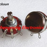 Blucksun 2PCS WTH118-1A 2W 22K ohm Rotary Potentiometer