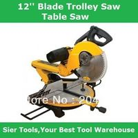 305mm 12'' Blade Trolley Saws/Wood Al Sawing Machine/Delivery By Fedex UPS or DHL