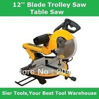 305mm 12'' Blade Trolley Saws/Wood Al Sawing Machine/Delivery By Fedex UPS or DHL