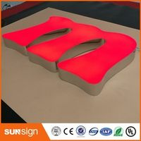 shsuosai Aliexpress outdoor restaurant signs LED lighting