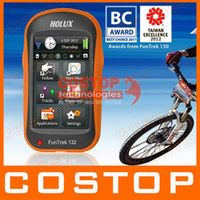 Holux FunTrek 132 update Funtrek 130 Handheld GPS / track recorder / bike / outdoor / measuring instrument