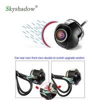 SKYSHADOW CCD Car Rear View Camera Front View Double Switch Upgrade Section Parking