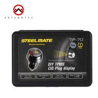 ertengtec Steelmate Tire Pressure Monitor Wireless DIY TPMS System Car Alarm