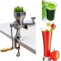 Juicing machine multifunction stainless steel manual wheatgrass juicer    ZF