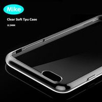 IMIDO For LG G3 Silicone Case Soft Slim Crystal Transparent Tpu phone back cover on G