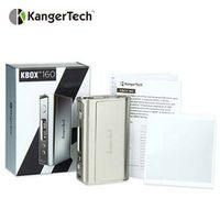 Genuine Kangertech KBOX TC MOD 160W without Battery Electronic Cig Upgraded Temp Control Mod with LED display