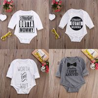 Kids Baby Girl Boys Clothes Cotton Bodysuit Long Sleeve Bebes Body Outfits Onsies Clothes 0-18M