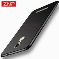 ZNP Ultra thin color Matte soft cover case for Xiaomi redmi 4 16GB note 3 4 bag