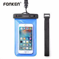 "FONKEN Case for Phone Case 5.8"" IPX8 Waterproof Bag Touch Operation 30M Underwater"