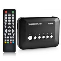 JEDX Full HD 1080P Media Player HDMI AV 3D HDTV SD/MMC Card reader/USB Included 16G U