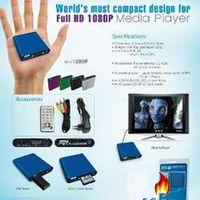 MANYTEL Mini Media Player 1080p Hdmi Sd/Usb Hd Media Player Mkv