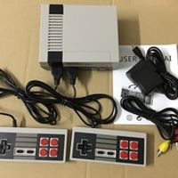 Retro Mini TV Handheld Video Console For Nes With 2 Controllers Built-in 600 Classic