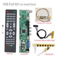 Agoal V56 Universal LCD TV Controller Driver PC/VGA/HDMI/USB Interface 7 key board