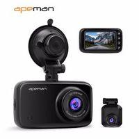 Apeman 1440p Dash Cam dvr C860 Car Rear View Drive Video Recorder Camera With Dual