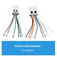 Audio Cable Wiring Harness Adapter for NISSAN Bluebird/Paladin/Sunny/Cefiro/FUGA/INFINITI