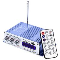 Kentiger HY-502 2CH Hi-Fi Stereo Distortion Low Noise Output Power Amplifier USB
