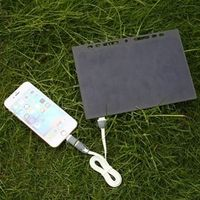 MVpower 5V 5W Solar Power Charging Leaflet A5 Charger USB For Mobile Phone