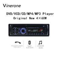 Universal 12V CD 4x60W DVD MP3 Player with FM AUX SD USB 1 Din Car Radio Autoradio