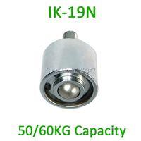 IK-19N M12 bolt carbon steel 50/60kgs ball bearing Loading Capacity 19mm Ball Downside Facing IK19N Ball Transfer Units