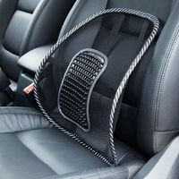 SUGERYY Black Mesh Lumbar Back Brace Support Office Home Car Seat Chair Cushion P16