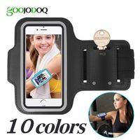 GOOJODOQ Waterproof Gym Sports Running for iPhone 8 7 4 5 5S 5C SE 6 6s 8 Plus