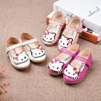 1-7Yrs Baby Shoes Kids Girls Shoes Infant Toddler Brand Princess Shoes Flower PU Leather Sandal Shoes Baby Moccasi 2017