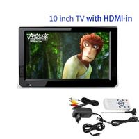 "LEADSTAR HDMI VGA 10 inch Televisions TV 10"" TFT Portable Multimedia Player With USB"