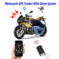 BANVIE GPS Tracker One Way Remote Engine Start Motorcycle Alarm with Android Iphone