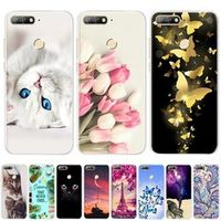 """DUANGSAN 5.7"""" Soft TPU Silicone Bumper on Honor 7C Cases for Huawei Honor 7C AUM-L41"""