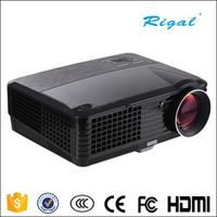 Rigal RD-801C 800*480 2000lumens 720P/1080P Home Theater LCD Projector LED