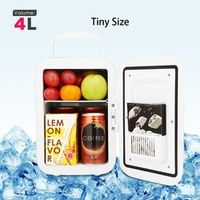 KONNWEI Mini Car Refrigerator Freezer Cooler Heater 2 Type Portable Universal Moving