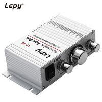 Lepy LP-A6 Mini 2 Channal Hi-Fi Stereo Audio Amplifier Car Home Output Power Volume