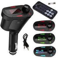 LESHP Car Kit MP3 Music Player Wireless FM Transmitter Radio Modulator With USB MMC