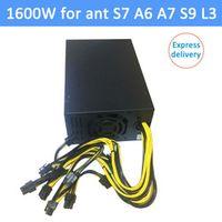 1600W psu Ant S7 A6 A7 S9 L3 BTC miner machine server mining board power supply