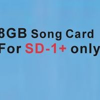 Indonesia MTV 8GB Micro SD song Card Chip work for Portable karaoke Player SD-1 only