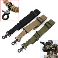 Mayitr 1 PC Adjustable Tactical One Single Point Bungee Rifle Gun Sling Strap