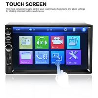 Dpower 7018B 7 Inch Bluetooth In Touch Screen Radio Audio Stereo Car MP3 MP5 Player