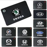 emblem accessories slip-resistant Car Logo Anti-Slip Mat pad non slip Mat For Toyota