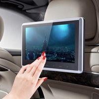 """VODOOL 10"""" HD Digital LCD Screen Car Headrest Monitor DVD USB SD Player IR/FM"""