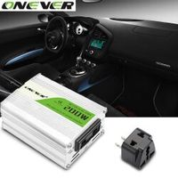 Onever 12V DC to AC 220V 50HZ Auto Pure Sine Inverter Converter Adapter Adaptor 1PCS