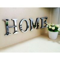 NAI YUE Wedding Love English 3D Wall Stickers Acrylic