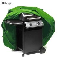 Behogar Outdoor BBQ Grill Cover Rectangle Durable