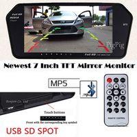 Koorinwoo High Resolution 1024*600 7 TFT LCD Car Rear View Mirror Monitor