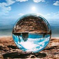 Crystal Photography Lens Ball Photo Prop Background Quartz