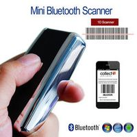 Blueskysea Wireless 1D Bluetooth Screen Barcodes Scanner Handheld 50 Meters Visual