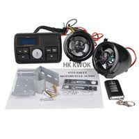 K KWOKKER Universal Motorbike Motorcycle Handlebar FM Radio Stereo Amplifier Speaker
