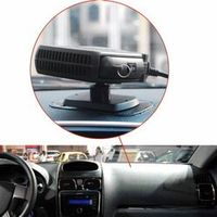 Rectangle 2 in 1 Auto Car Heater Heating Cooling Fan Defroster Demister DC 12V 150W
