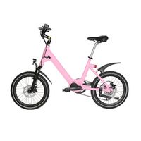 SMLRO 20inch lady s HER female commuter princess electric assist bike Bluetooth