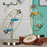 MagiDeal 10/30/60 min Vintage Copper Frame Glass Sand
