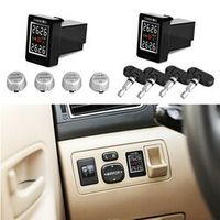 CAREUD U912 TPMS Cars Auto Wireless Tire Pressure Monitoring System with 4 Sensors